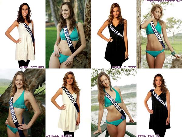 Candidates à Miss France 2014