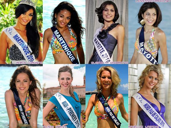 Candidates à Miss France 2011
