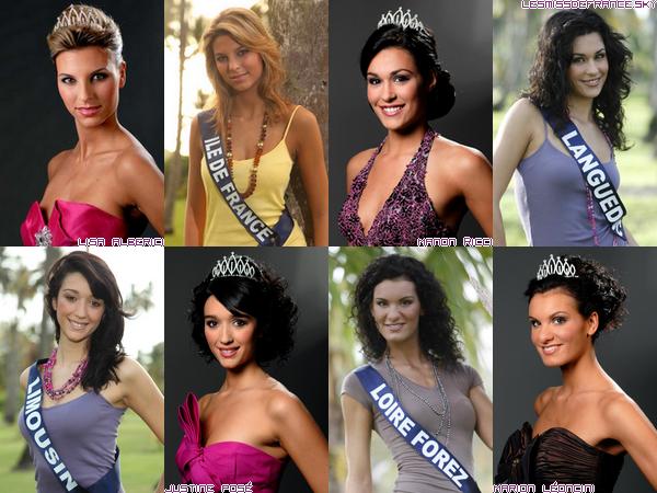 Candidates à Miss France 2010
