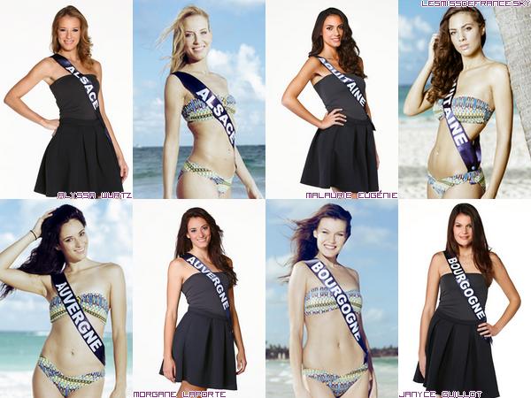 Candidates à Miss France 2015