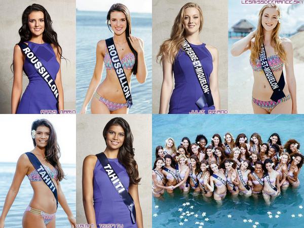Candidates à Miss France 2016