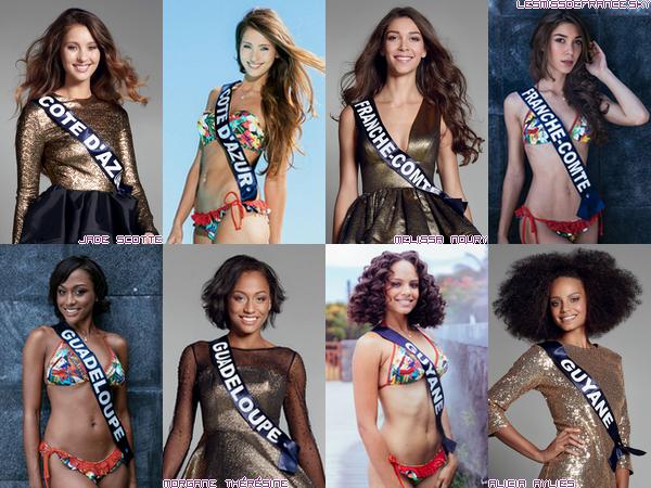 Candidates à Miss France 2017