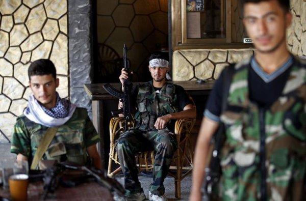 En Syrie, la guerre au quotidien