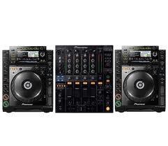 Pack DJM-800 + 2 x CDJ-2000