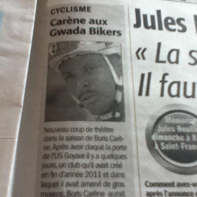 Articles du France-Antilles [5.05.12]