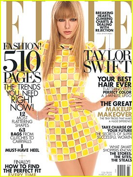 Taylor Swift, photoshoot aux USA pour le magasine ELLE.
