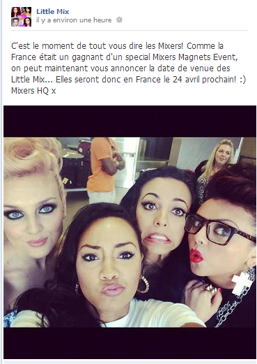 News Little Mix EN FRANCE :D!!!