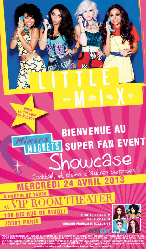 "Les Little Mix en France cette semaine :) ! >>> Leur ShowCase :) Part 1 ""images"""