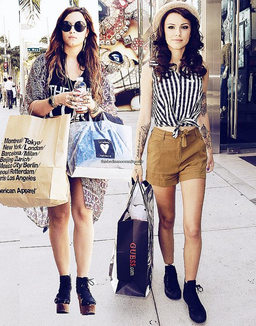 Cher and Demi :) ! Leur duo