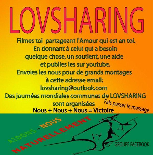 Pratiques le LOVSHARING!