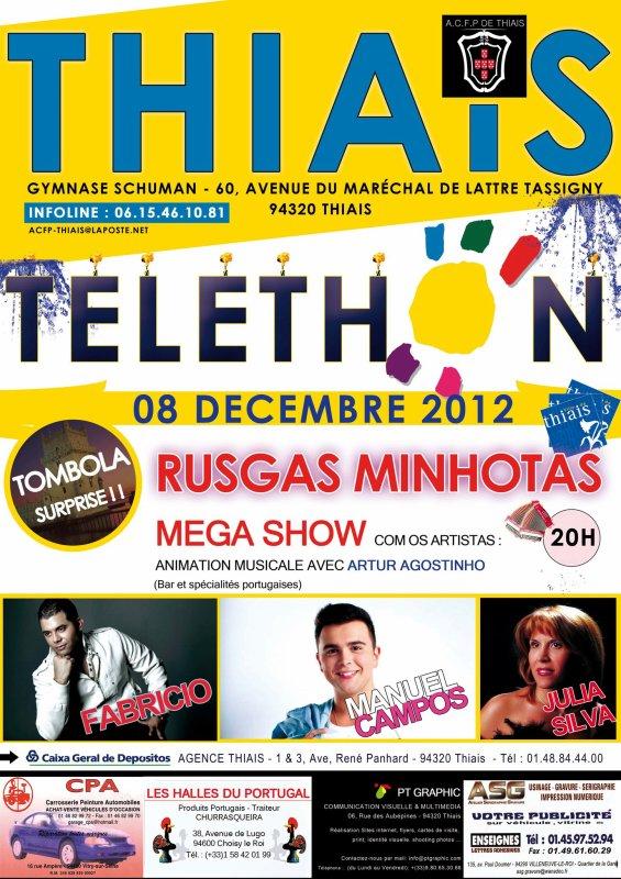 TELETHON 08/12/2012