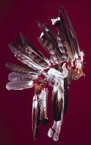 Les coiffes à plumes