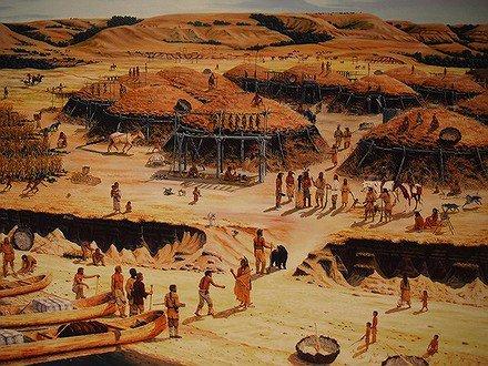 Les Arikaras, les Hidatsas et les Mandans