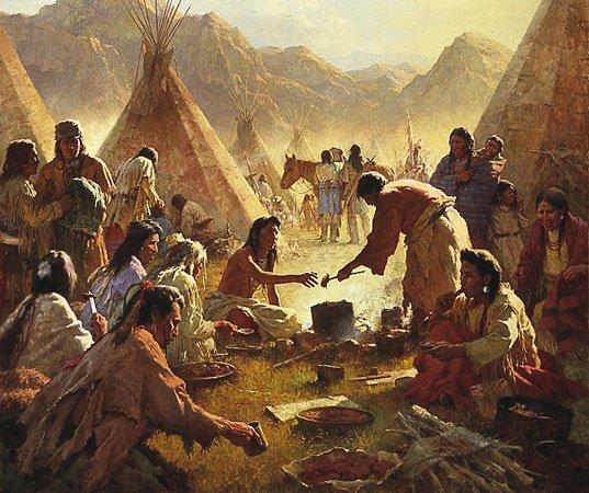 Commerce entre Sioux