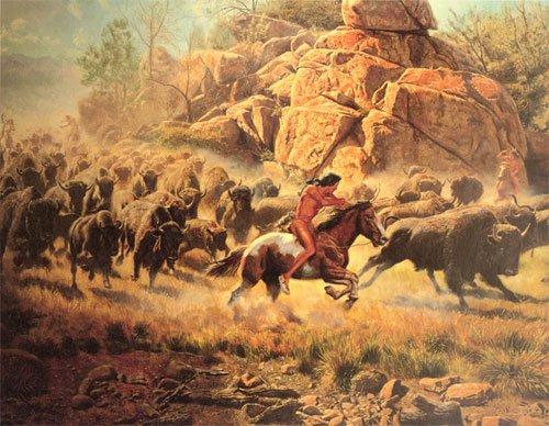 La chasse à cheval