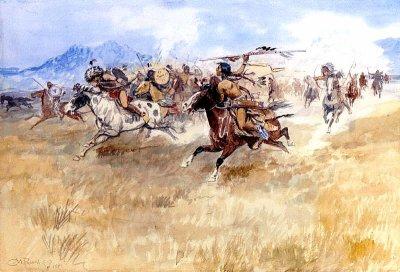 L'origine de la guerre dans les plaines