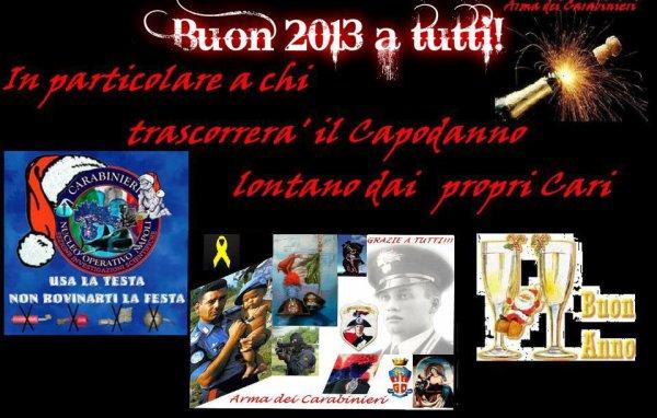 Bonne fête de fin d'année a tutti et plein de bonheur - https://www.facebook.com/pages/Arma-dei-Carabinieri/189245987771417