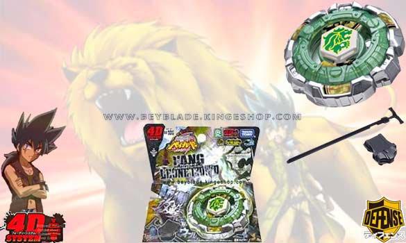 Toupie Takara Beyblade Metal Fury 4D FANG LEONE 130W2D BB-106 - Beyblade Shop