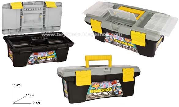 Caisse de rangement toupies et accessoires Beyblade Tool Box - www.beyblade.kingeshop.com