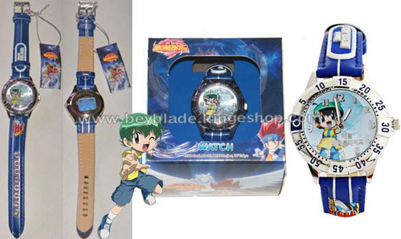 Montre enfant Beyblade illustration Kenta - Beyblade Shop