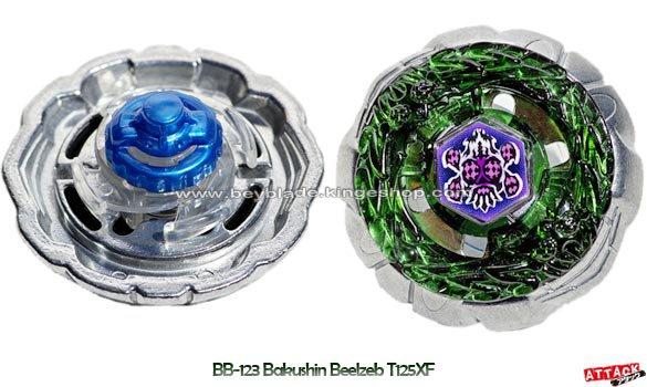 Toupie Booster Bakushin Beelzeb T125XF - BB-123 Random Booster Volume 9 Fusion Hades AD145SWD