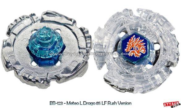 Toupie Beyblade Booster Meteo L-Drago 85LF Rush Version - BB-123 Beyblade Random Booster Volume 9 Fusion Hades AD145SWD