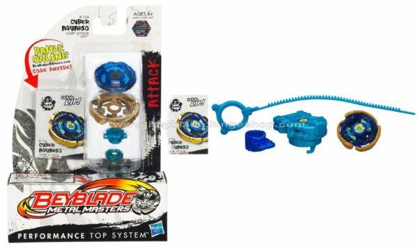 Toupie Hasbro Beyblade Metal Masters Cyber Aquario 105RF B-124 - Beyblade Shop