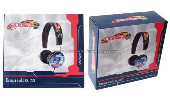 Casque audio stéréo Beyblade pour enfant - Beyblade audio stereo Headphone - Beyblade Shop