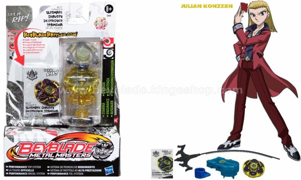 Toupie Hasbro Beyblade Ultimate B Gravity Destroyer BB-97 GB145S - Version Endurance -Beyblade Shop