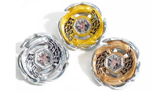 Set de 3 toupies Beyblade WBBA G3 Champion Galaxy Pegasus W105R2F - Gold, Silver, Bronze - ギャラクシーペガシス