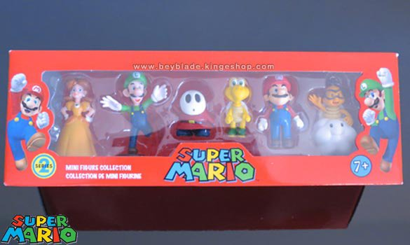 Set de 6 mini figurines Nintendo Super Mario Série 2