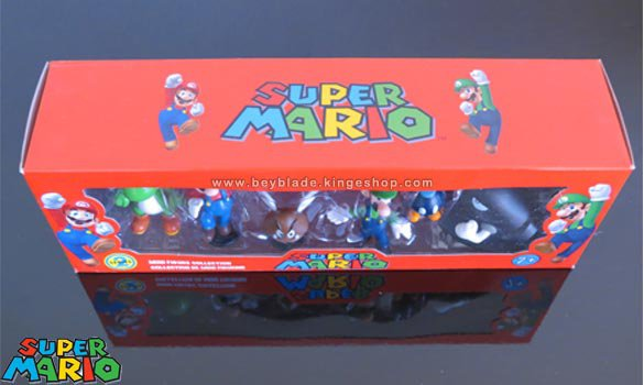 Set de 6 mini figurines Nintendo Super Mario Série 2 - Mini Figures Collection