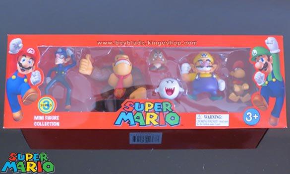 Set de collection de 6 mini figurines en PVC Nintendo Super Mario - Serie 3