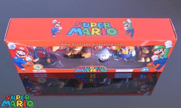 Set de collection de 6 mini figurines en PVC Nintendo Super Mario - Serie 3