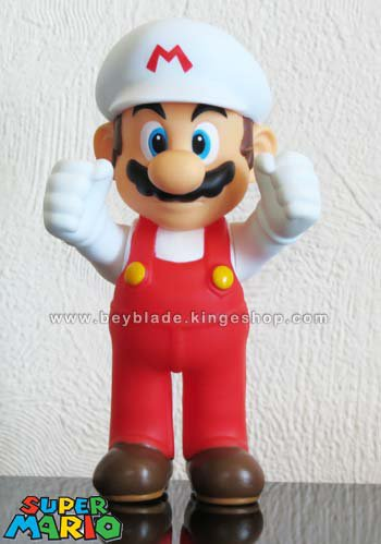 Figurine Nintendo Super Mario articulée Rouge et Blanc - Super Size Figures Collection