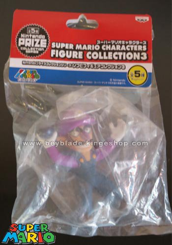 Figurine Nintendo Super Mario - Waluigi - Characters Figure Collection 3