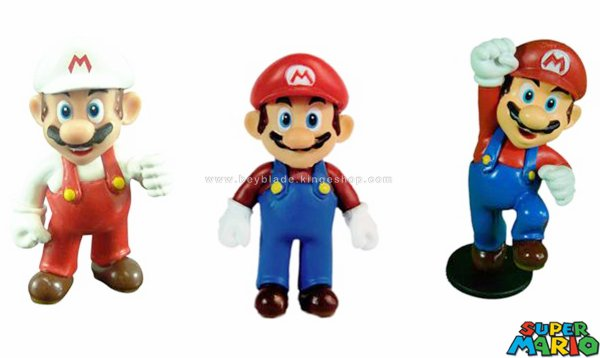 Nintendo Super Mario Special Multi Pack de Collection de 3 Mini Figurines Mario - Banpresto - Together Plus - Goldie Marketing
