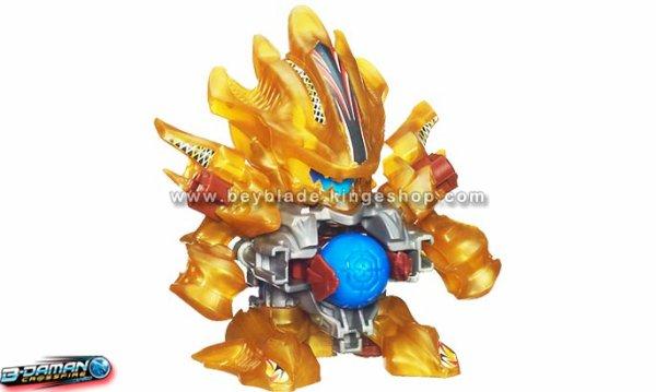 Jouet, figurine B-Daman Crossfire CB-24 Starter Spin Leohjya - Thunder Leo - スピン=レオージャ
