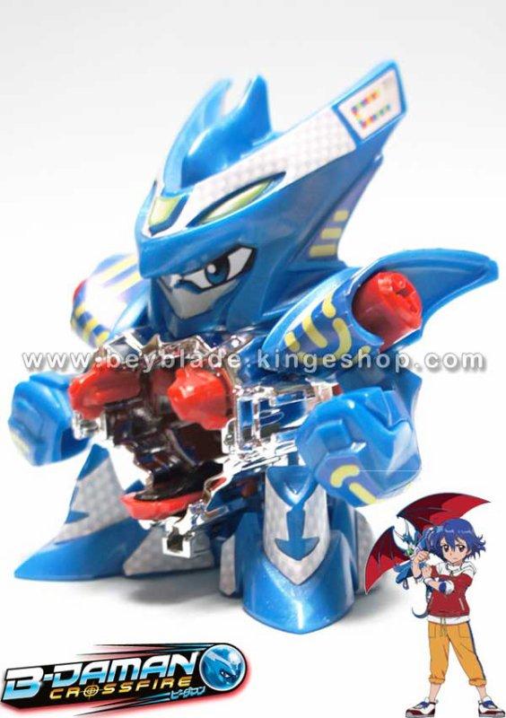 Jouet, figurine B-Daman Crossfire CB-01 Starter Thunder Dracyan-Accele=Dracyan - アクセル=ドラシアン