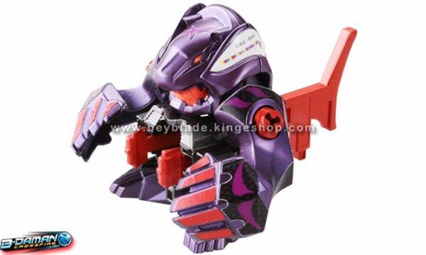 Figurine B-Daman Crossfire CB-12 Starter Torque Bearga/ Thunder Bearga - トルク=ベアーガ