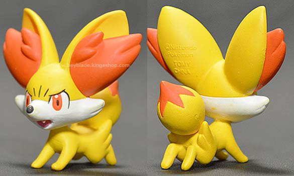 B-02 figurine Pokemon Monsterball Moncollé personnage Feunnec - フォッコ