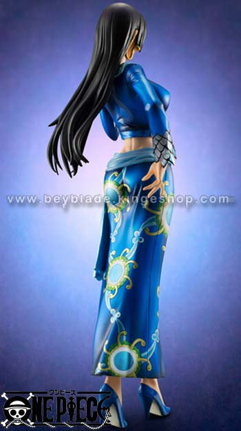 Figurine One Piece Impératrice Pirate Boa Hancock 23 cm - Version Blue Portrait Of Pirates Pop Extra Megahouse