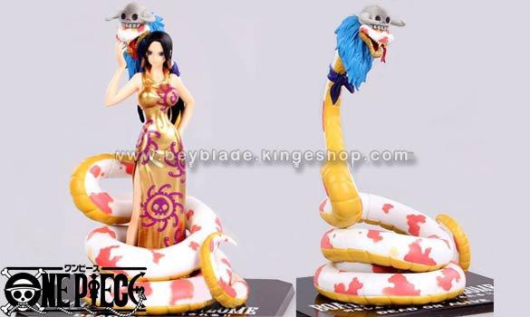 Figurine One Piece Boa Hancock & Salome 17 cm - Figuarts Zero Bandai