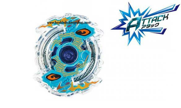 Toupie Takara Tomy de la série Beyblade burst B-06 Booster Ragnaruk Central Accele