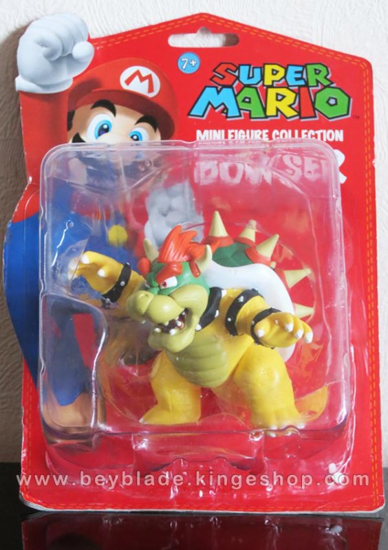 Figurine Vinyl personnage Roi Bowser Koopa - Collection Nintendo Super Mario Action Figure