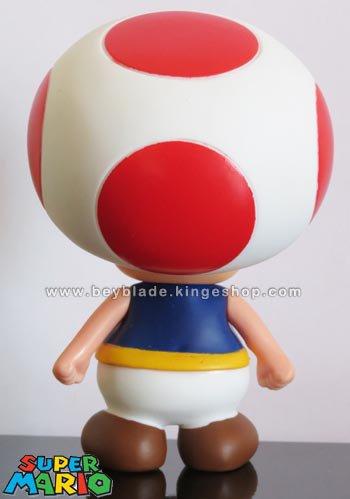 Figurine vinyl personnage Toad le Champignon 9,5 cm - Collection Nintendo Super Mario Action Figure
