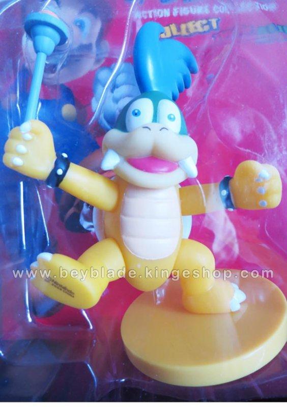 Figurine vinyl sur socle Personnage Larry Cheatsy Koopa - Koopalings - Collection Nintendo Super Mario