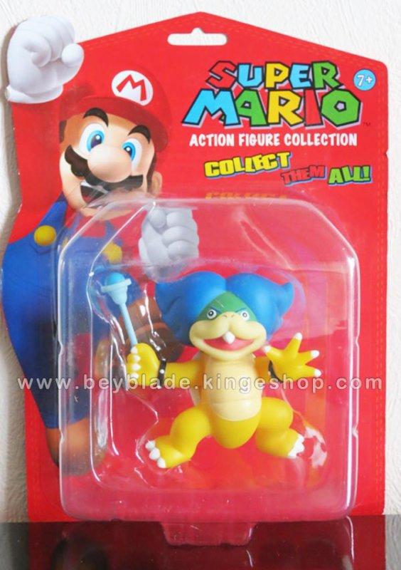 Figurine vinyl Personnage Ludwig Von Koopa 9 cm - Collection Nintendo Super Mario Action Figure