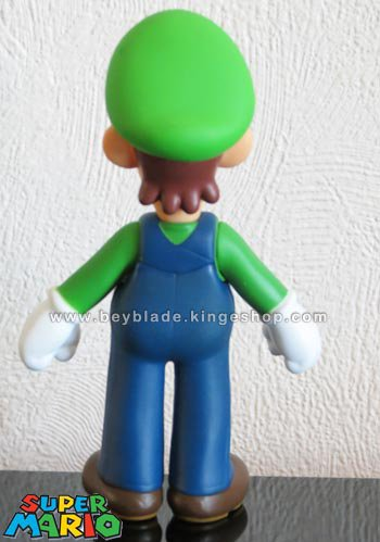 Figurine vinyl personnage Luigi le plombier - Collection Nintendo Super Mario Large Action Figure