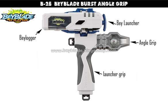 B-25 Beyblade Burst Angle Grip - Accessoire pour toupie Takara Tomy Shogakukan